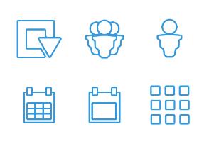 Website Panel icons