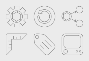 Website Outline Icons Vol.1