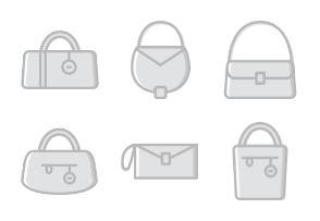 Woman Accessories - Greyscale - Vol 1