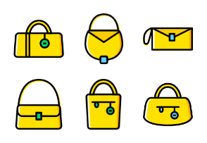 Woman Accessories - Yellow - Vol 1