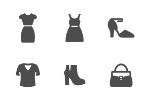 Woman Clothing Filled Style