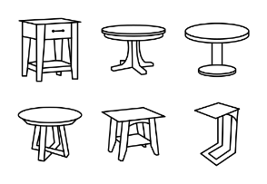Wooden Tables Collection