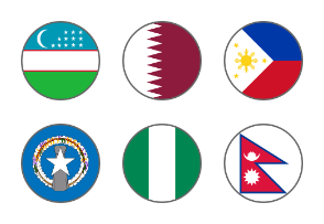 World flags 6