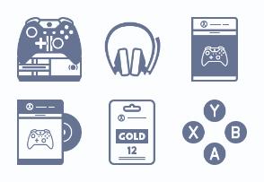 Xbox One console (glyph)
