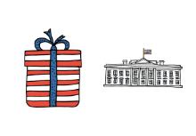 Happy July 4th Doodles