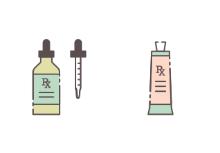 Pharmacy + Medical Filled Outline