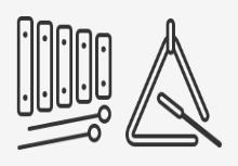 Music & Musical Instruments Line Art